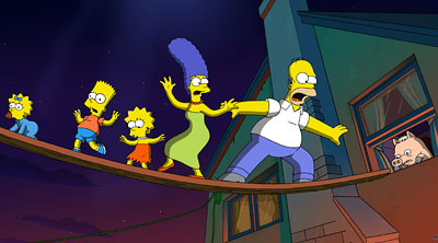 Still from The Simpsons Movie - Courtesy of 20th Century Fox