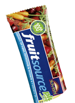Sun-Rype Fruit Source Plus Veggie Bar - sunrype.com