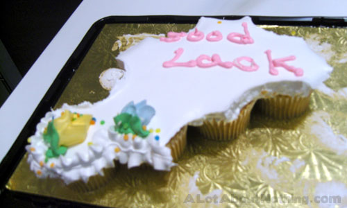 My Good Luck Cupcake Cake