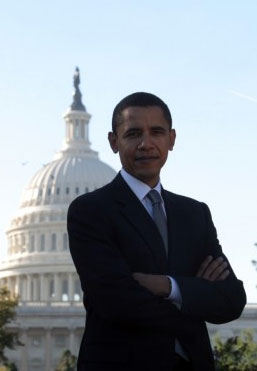 Barack Obama - courtesy of barackobama.com
