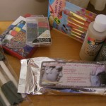 Art supplies from Dollarama