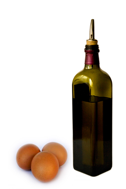 EVOO and eggs