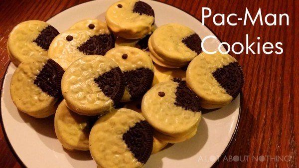 Pan-Man Cookies